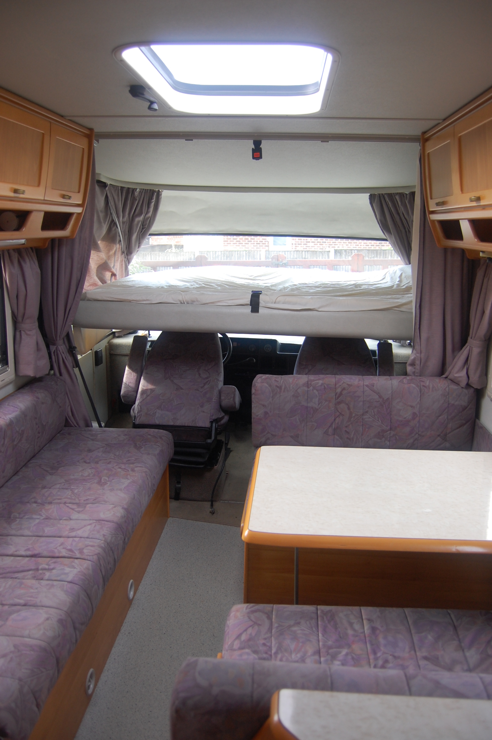 Our Home Dave The Hymer Our Tour