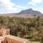 """Agdz Kasbah and """"Tajine"""" Mountain, Agdz, Morocco"""