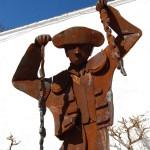 Statue at Bullring, Ronda, Spain