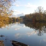 Dordogne River in Beynac, France