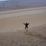 Dune Running in Capbreton, France