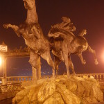 Statue, Tui, Spain