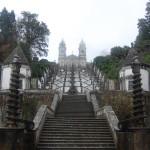 Steps to Bom Jesus, Braga, Portugal