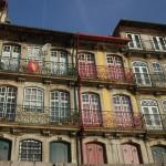 Houses, Ribeira area, Porto, Portugal