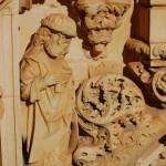 Carving, Convento de Cristo, Tomar, Portugal
