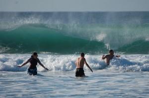 Even bigger waves
