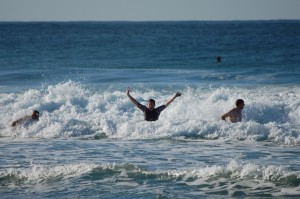 Top Wave Action