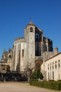 Charola (Church) Convento de Cristo - more fortress than church?