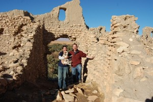 Rock the ruined Kasbah