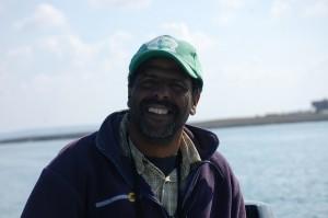 Bird man Khalil Fachkhir, our guide at Moulay Bousselham.