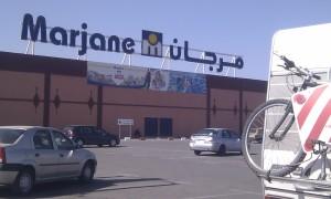 Marjane's main entrance.