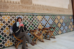 Ju somehow seems to know loads about the Alhambra?