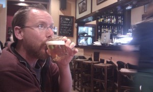 Barcelona, football and beer. What more can a man want. A bigger glass perhaps?
