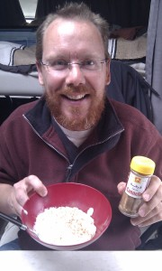 Rice pudding and cinnamon - yummy