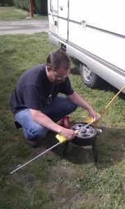 Safari Chef furnace in action