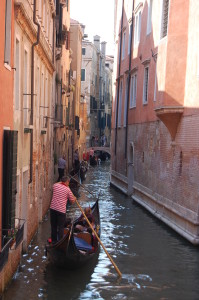 Another Gondola traffic jam