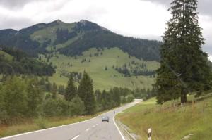 The German Alpine Road, so far, so great.