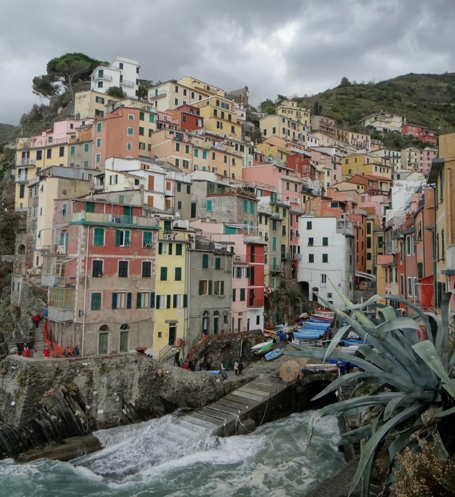 First stop - Riomaggiore