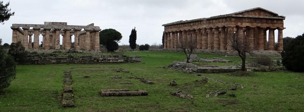 The Greek temples of Paestum