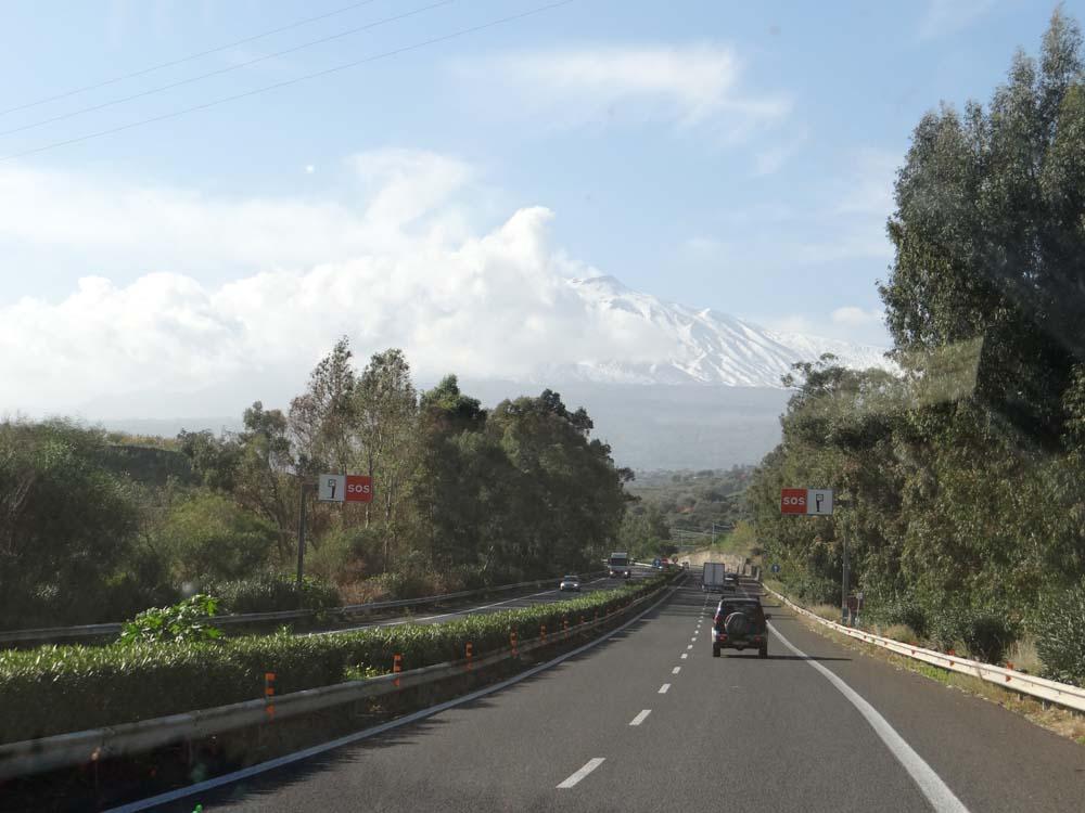GPS set. Target: Etna.