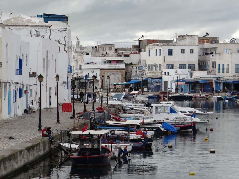 Boats in Bizerte