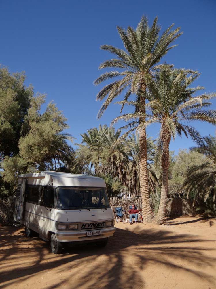 And relax, well done, you made it to Ksar Ghilane!