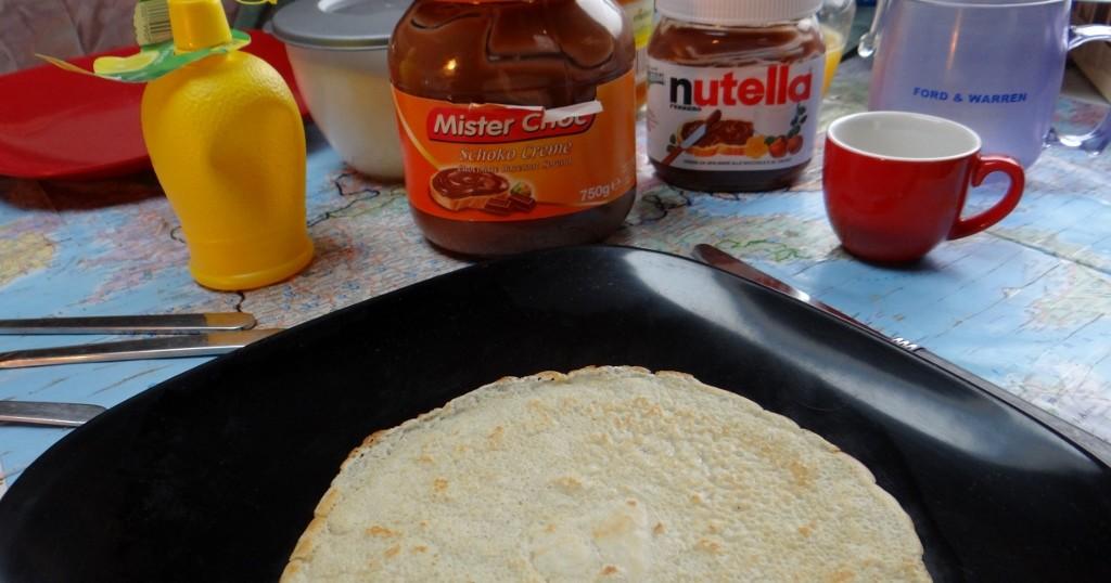 Hmmm, pancake day!