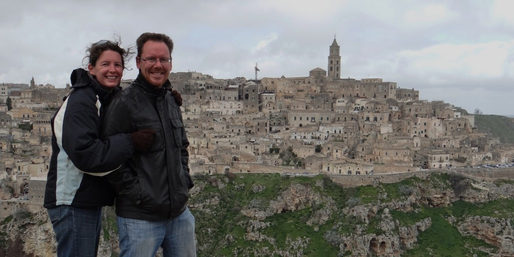 Windswept in Matera