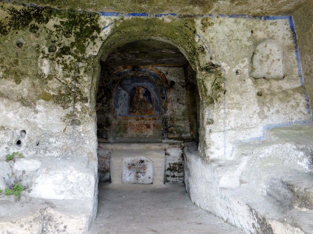 St Anges church in a cave