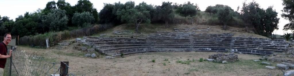Gythio's Roman theatre