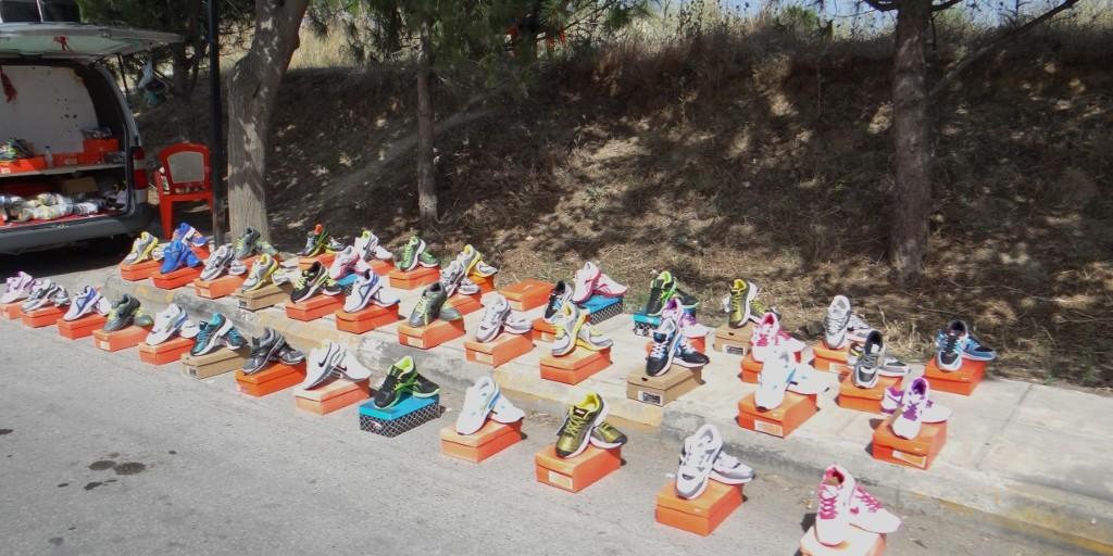 Roadside shoe shop