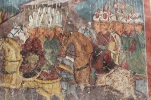 Exterior Murals on a Romania Church