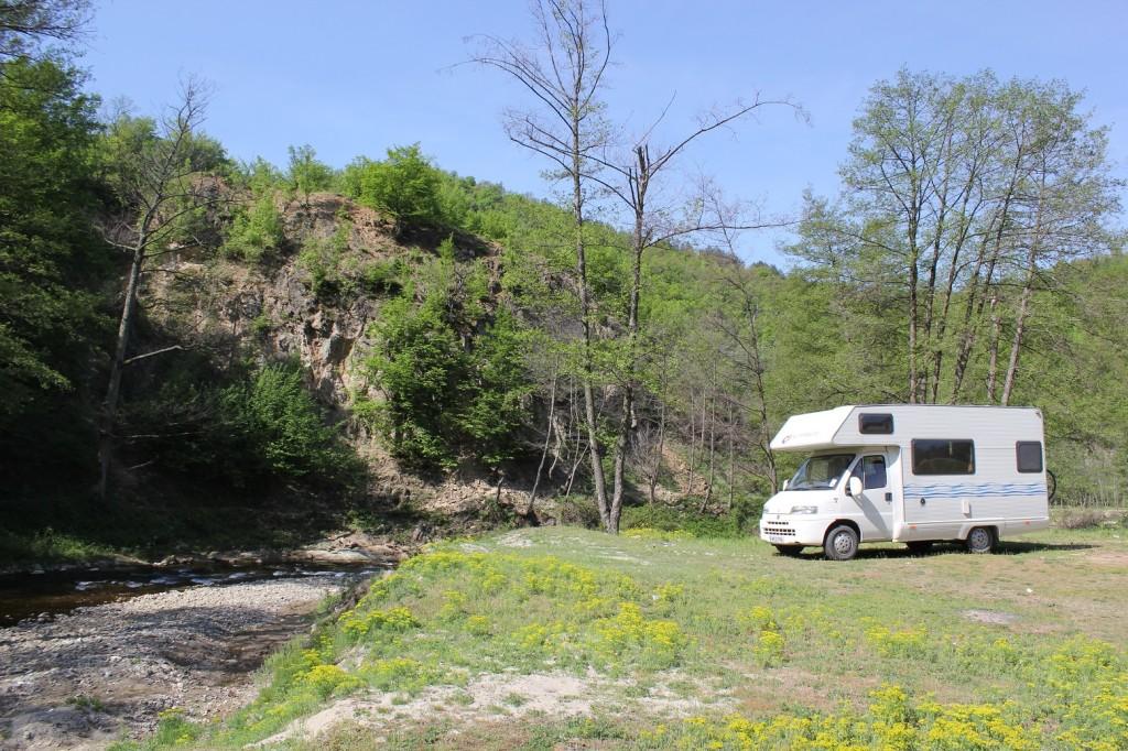 Wild Camping in Romania