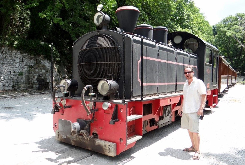 Jay and the steam train - hang on a minute!!!!