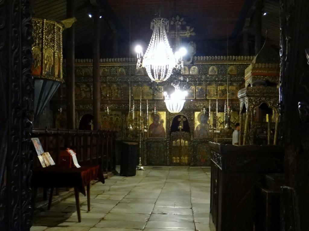 Inside Rozhen monastery
