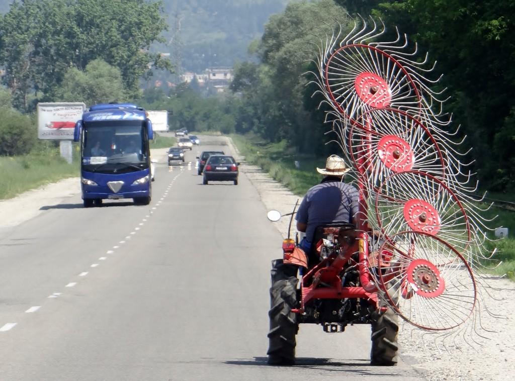 Heavy machinery - Bulgarian style!