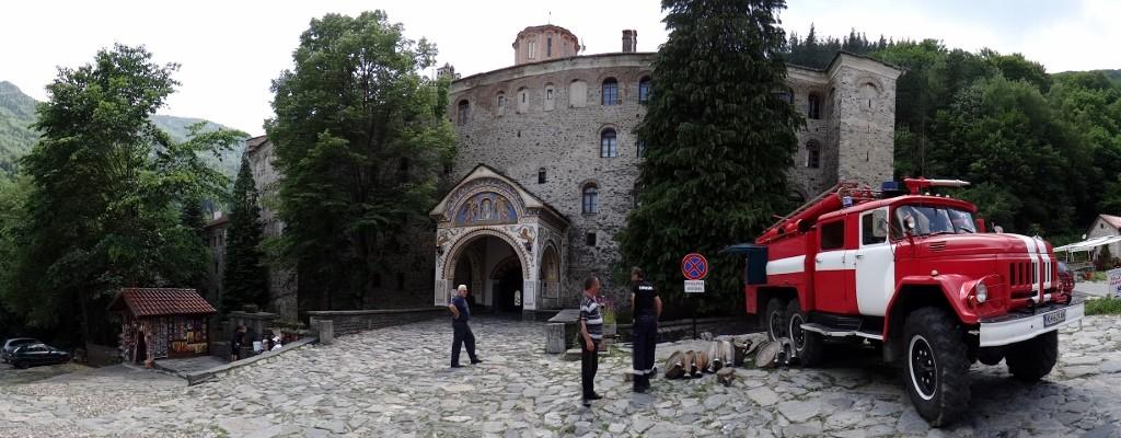 Rila Monastery fire station!