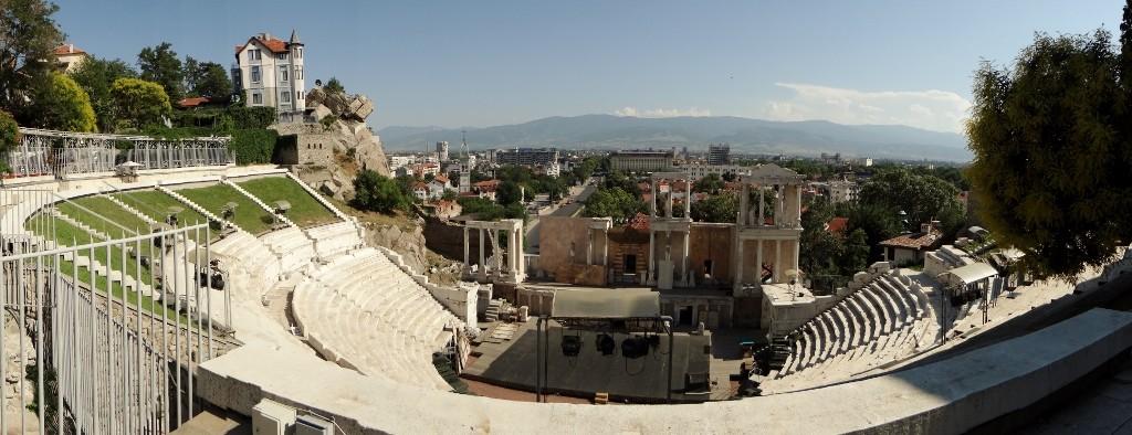 Plovdiv's Roman theatre