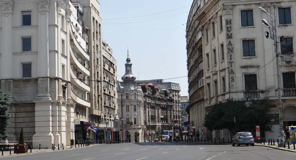 Bucharest: rather plush.