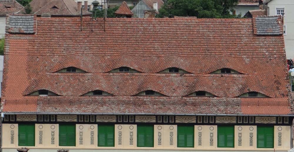 Sometimes it just feels like you are being watched by the buildings!