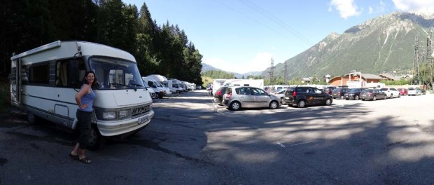 Chamonix Service Point - we're all about the glamour!
