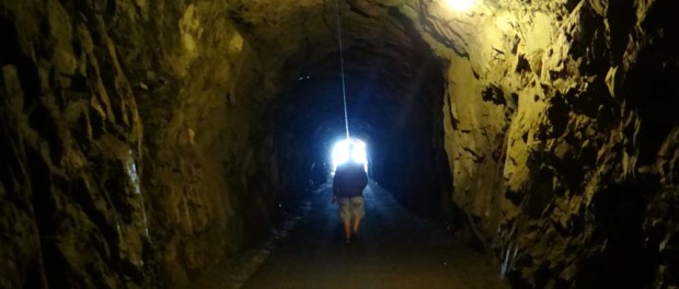 The scary tunnel