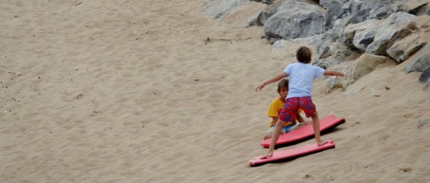 Surfing lessons, just add water