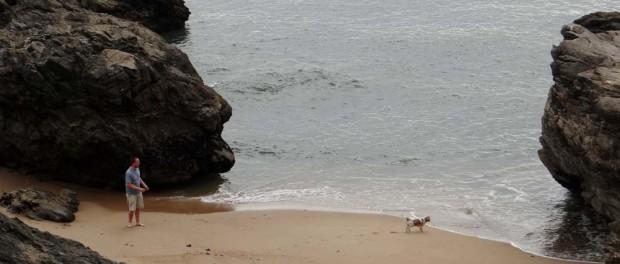 Quality cheeky beach time for the boys