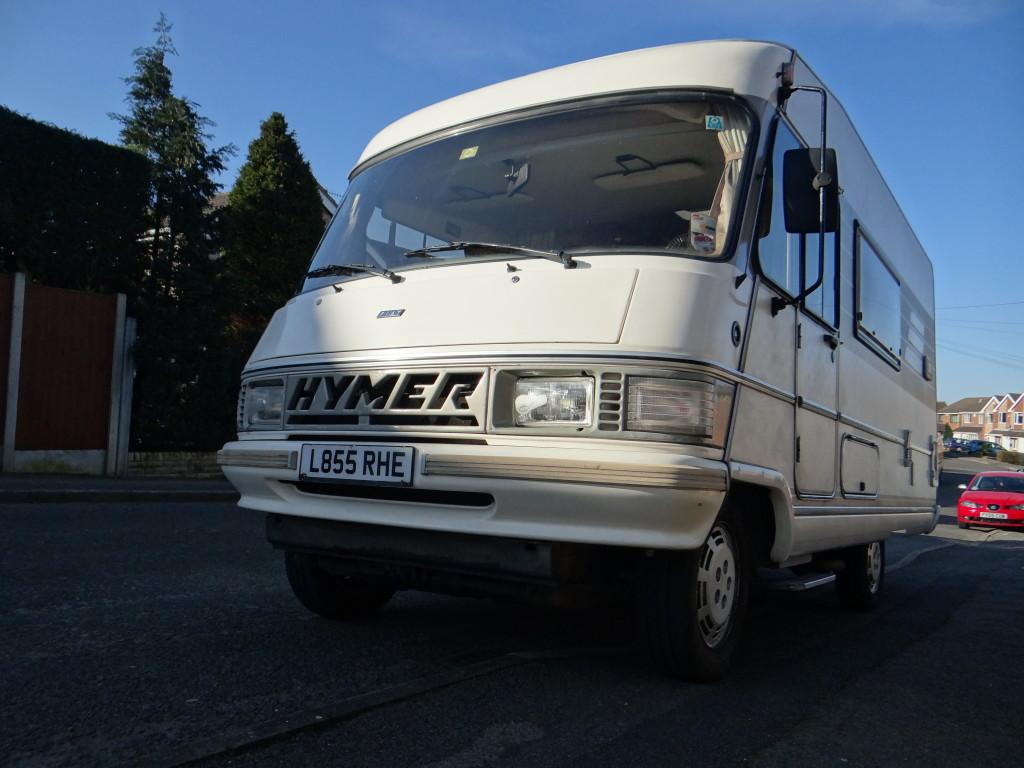 1993 Hymer B544 Motorhome