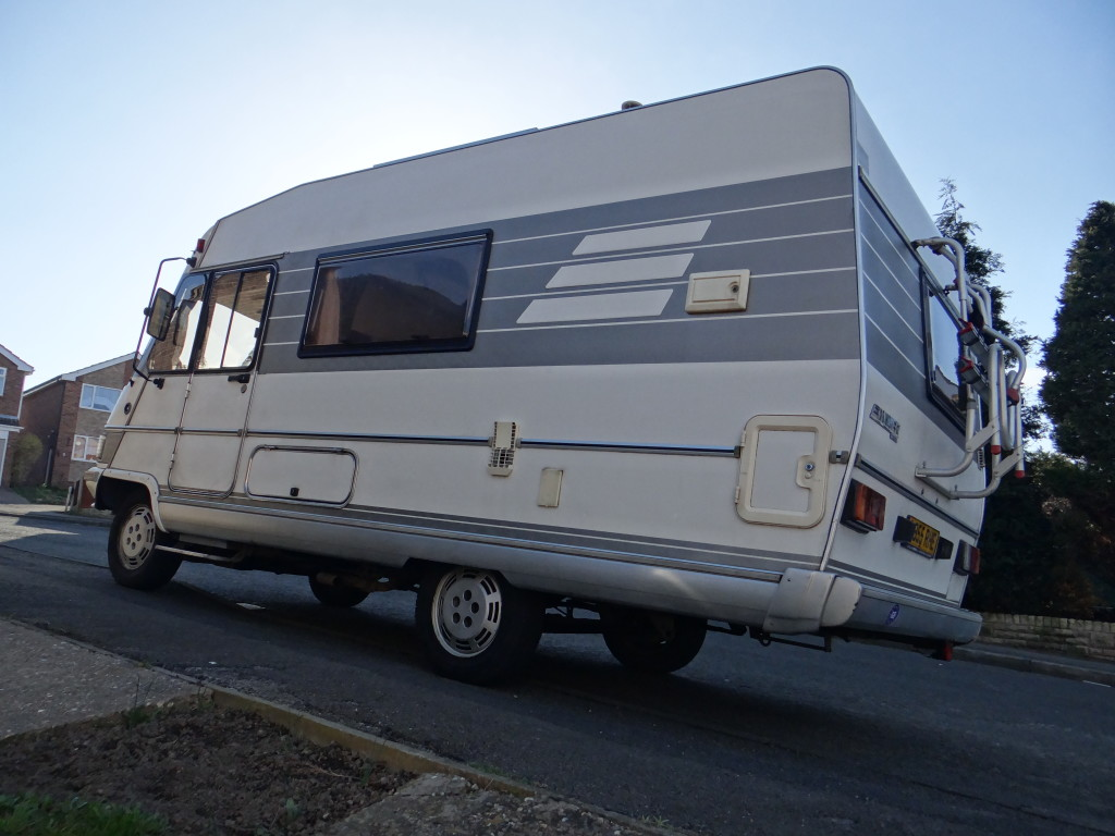 hymer b544 motorhome for sale seeks new loving home our tour motorhome blog