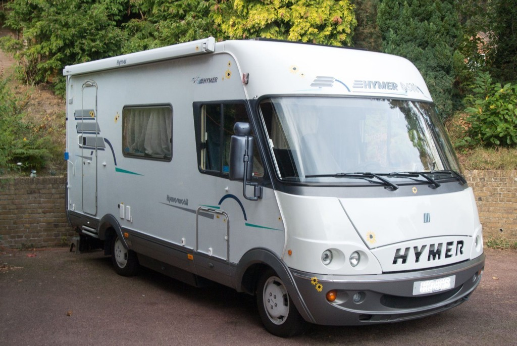 look inside our hymer b544 2001 motorhome zagan our. Black Bedroom Furniture Sets. Home Design Ideas