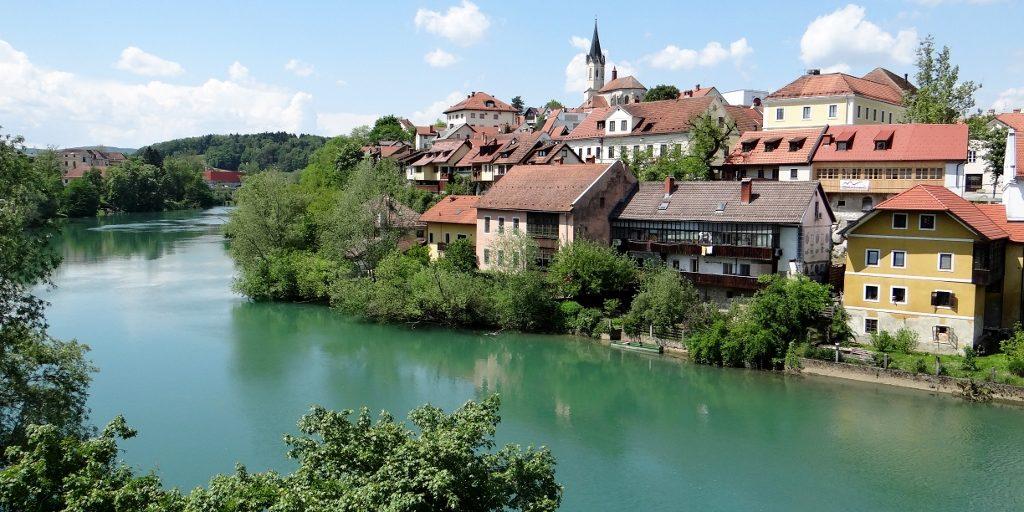 Vignettes And New Towns Novo Mesto Slovenia Our Tour
