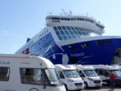 Motorhome ferry to Finland