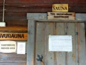 Sorry, no photos from the inside of the sauna!